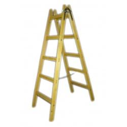 Rebrík drevený, 8 stupňov, 2,56 m