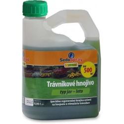 SedoSpray JAR A LETO, trávnikové hnojivo, 0,95 L
