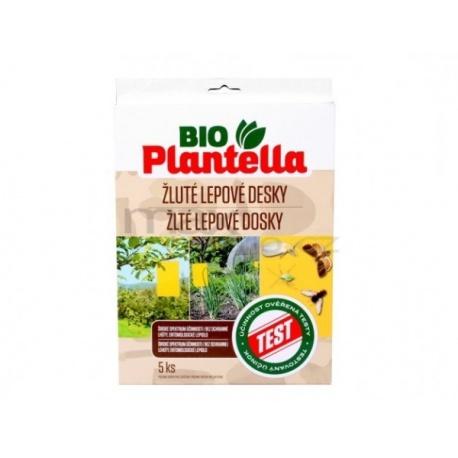 Lepové dosky, Planetella, žlté, 5 ks