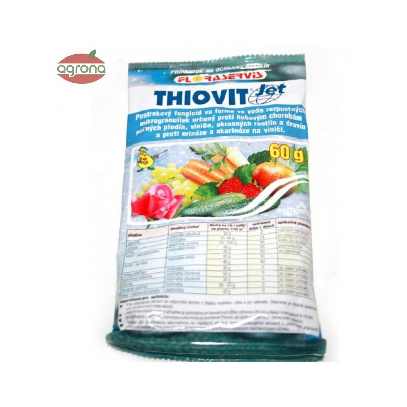 Thiovit, proti múčnatke, erinóze a akarinóze, 60 g