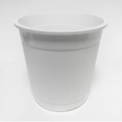 Kvetináč Stevia, biely, 1,2 L, 14 cm