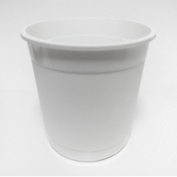 Kvetináč Stevia, biely, 4,9 L, 21 cm