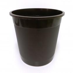 Kvetináč Stevia, hnedý, 0,7 L, 11 cm