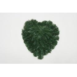 Srdce smrek, plné, 37 x 35 cm