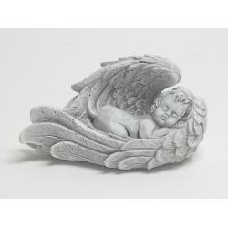 Anjel ležiaci v krídlach 17 x 10 cm