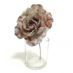 Štipec vianočná ruža, mix, 12 cm