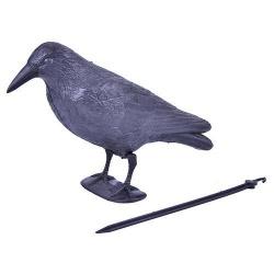 Plašič vtákov, havran, 38 cm