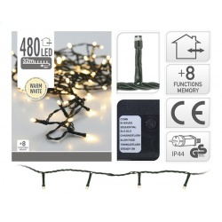 Vianočné svietidlá AX8405560, WARM WHITE, 480 LED