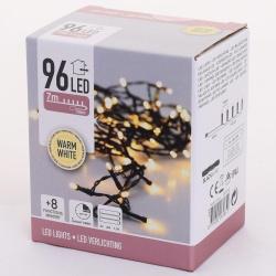 Vianočné svietidlá AX8415220, WARM WHITE, 96 LED