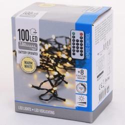 Vianočné svietidlá AX8723110, WARM WHITE, 100 LED