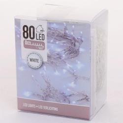 Vianočné svietidlá AXS000580, WHITE, 80 LED