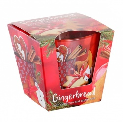 Sviečka v skle, Christmas Gingerbread, 115 g
