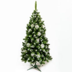 Vianočný stromček, GH12, so zasneženými vetvičkami, 180 cm