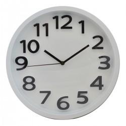Plastové nástenné hodiny DE8713C