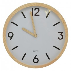 Drevené nástenné hodiny DE1253
