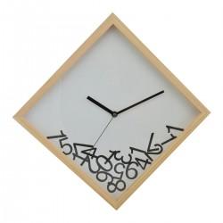 Drevené nástenné hodiny DEQ282