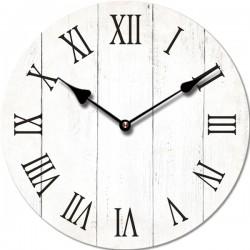 Drevené nástenné hodiny DEB6290