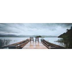 Obraz na plátne 50x150 Na Jazere