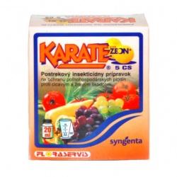 KARATE ZEON 5 SC - Vošky, cicaví a žraví škodcovia, 20 ml