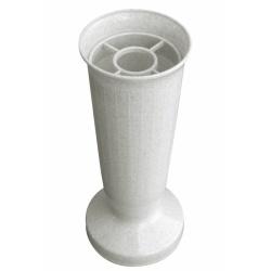 Nízky záťažový kalich, mramorový, 22 cm