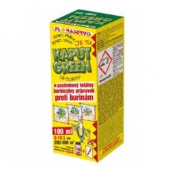 KAPUT GREEN - Totálny herbicíd, 100 ml