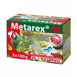 METAREX M - Na ničenie Slimákov, 3 x 100 g