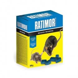 Ratimor návnada na hlodavce, parafínové bloky, 300 g