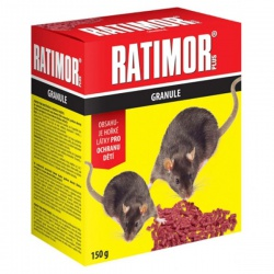 Ratimor plus, granule, 150 g