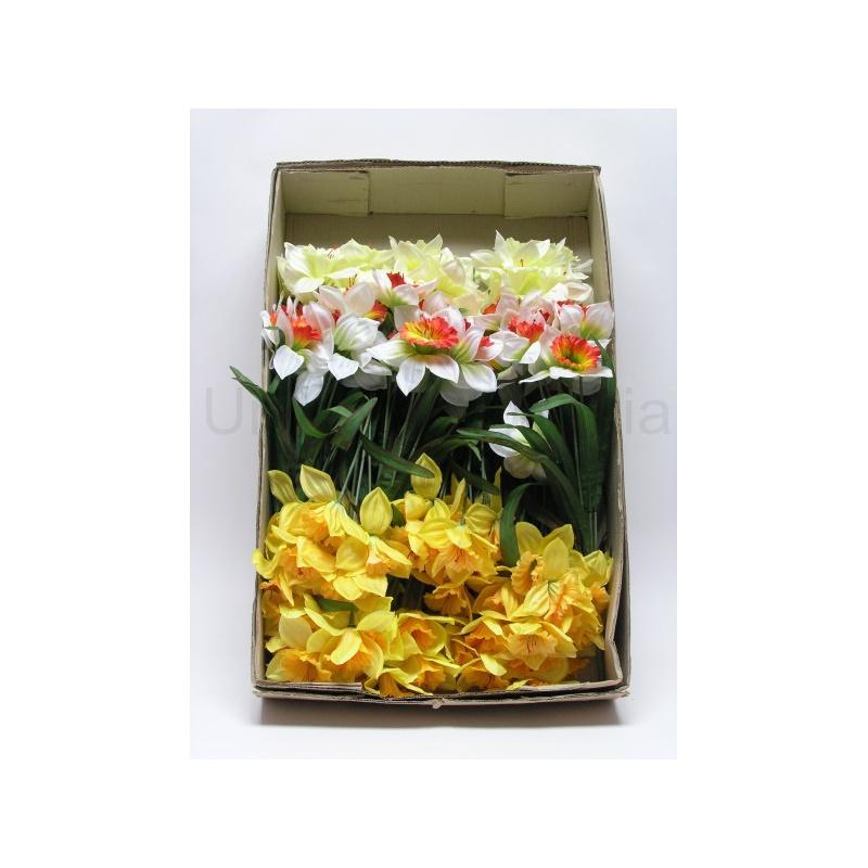 Kytica narcis, x10, mix farieb, 50 cm