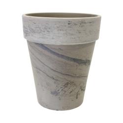 Keramický kvetináč Terakota, šedý, 46 x 38 cm 31 L