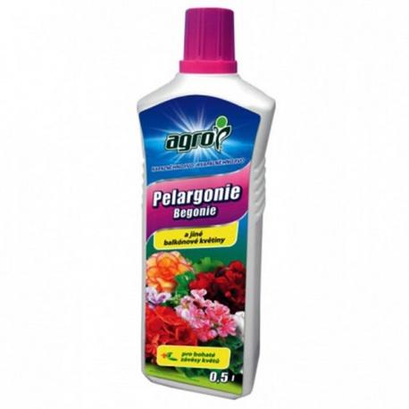Hnojivo na balkónové kvety - AGRO, 0,5 L