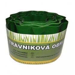 Okraj trávnika, zelený, 10 cm x 9 m