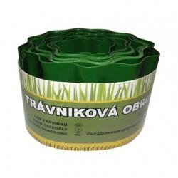 Okraj trávnika, zelený, 20 cm x 9 m