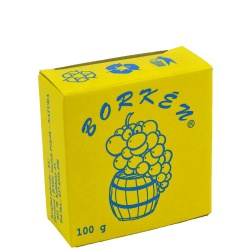 Dvojsiričitan draselný, Borkén, 100 g