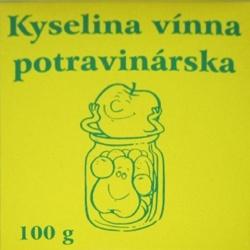 Kyselina vínna, Borkosan, 100 g
