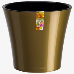 Obal Arte, zlatá a čierna, 1,2 L, 13,5 x 12,5 cm