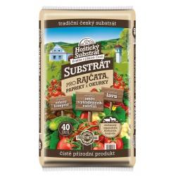 Hoštický substrát pre rajčiny, papriky a uhorky, 40 L