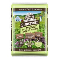 Hoštický substrát pre bylinky, 10 L