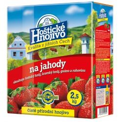 Hoštické hnojivo pre jahody, 2,5 kg