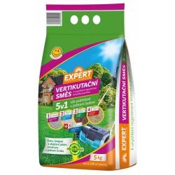 Hnojivo trávnikové, Expert, Vertikutačná zmes, 5 kg