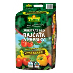 Substrát pre rajčiny a papriky, otoč a saď, 40 L