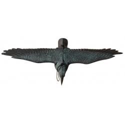 Plašič vtákov, vrana letiaca, 80 x 45 cm