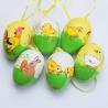 Vajíčka, plastové, 4 x 6 cm