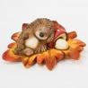 Keramika ježko na liste, 22 x 15,5 x 9 cm