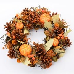 Veniec prírodný, jeseň, 30 x 8 cm