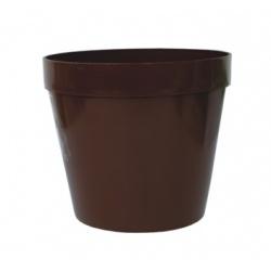 Kvetináč 01, hnedý, 14 cm