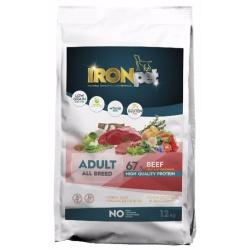 Ironpet Adult All Breed, hovädzie, 1 kg