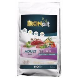 Ironpet Mini Adult, hovädzie, 1 kg