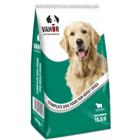 Kompletné krmivo, granule pre psov, kuracie, VAHUR, 1 kg