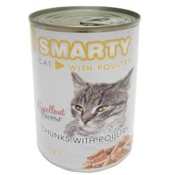 SMARTY CAT Konzerva, hydinová, 410 g